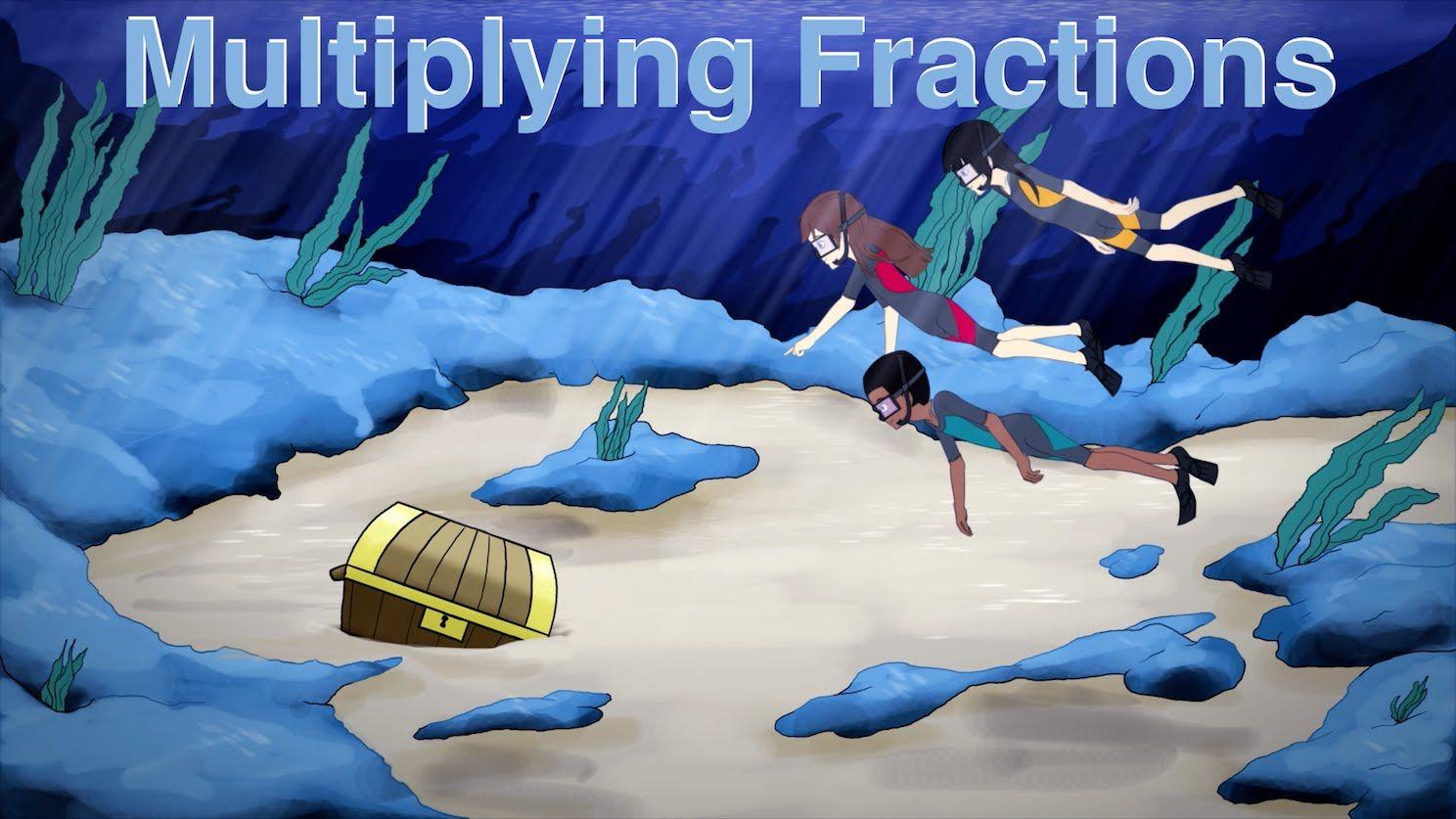 Multiplying Fractions Song Cartoon Rap Video For