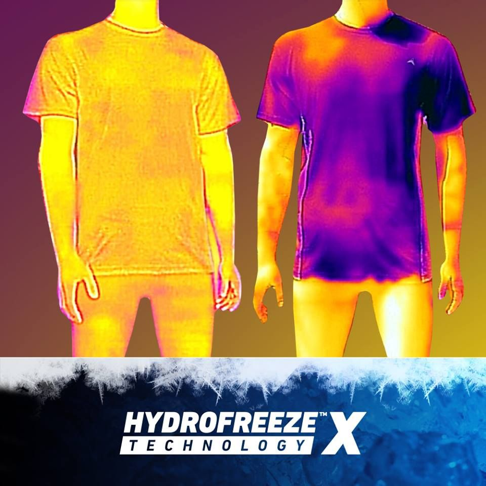 Instant Cooling Shirts Hydrofreeze X Technology Cool Shirts