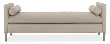 FURNITURE - I love benches. Maybe for great room and in a durable/Sunbrella fabric?