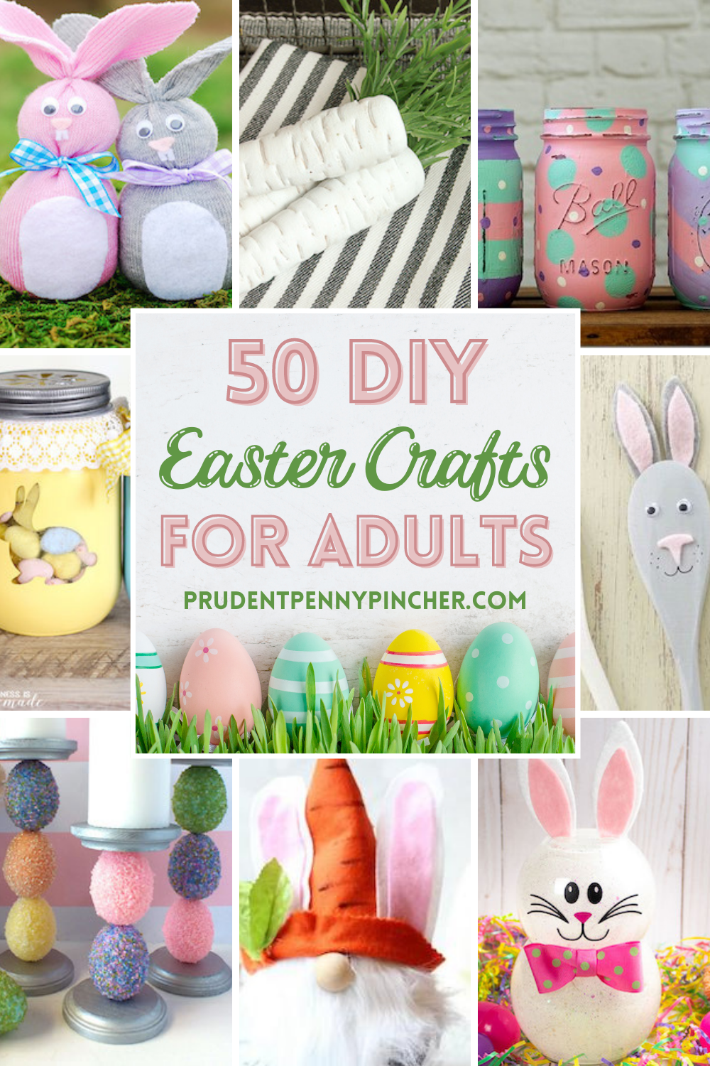 Photo of 50 DIY Easter Crafts for Adults
