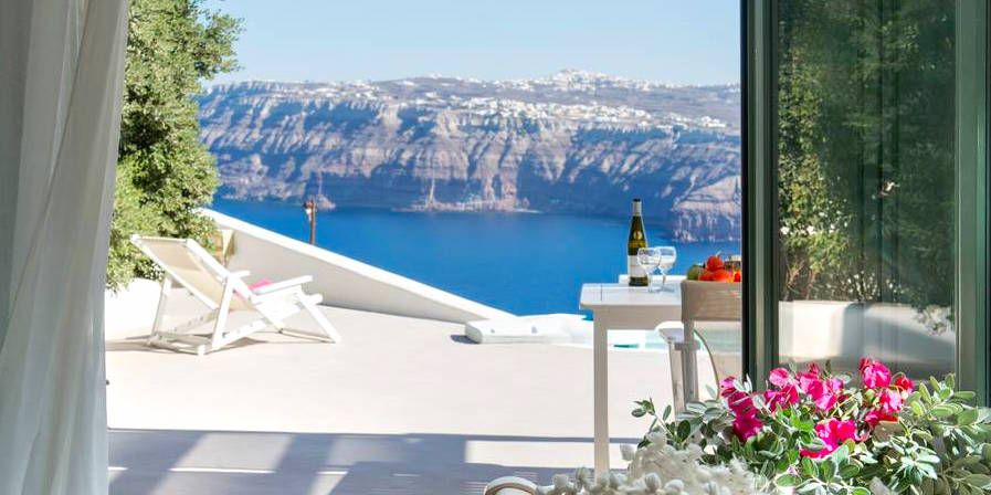 6 Nights In Santorini From $909 With Sea-View Apartment ...