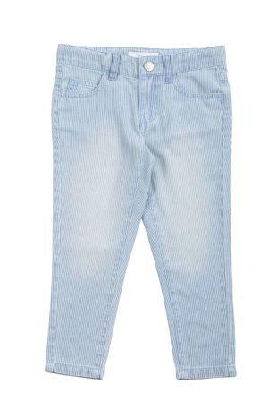 Pantalon Tipo Jeans Para Nina En Color Azul Claro Dos Bolsillos Adelante Y Dos Atras Ropa Para Ninas Ropa Color Azul Claro