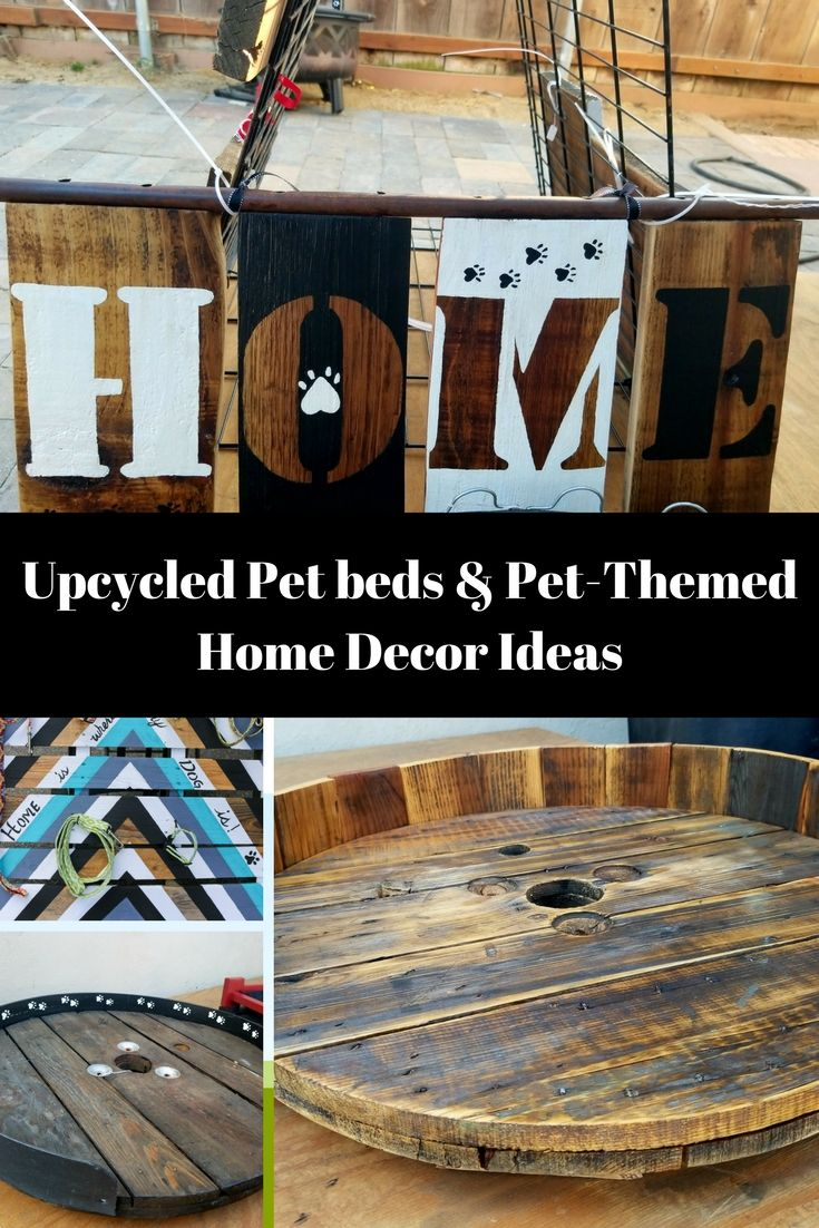 Upcycled Dog Beds/Supplies That'll Make You Smile! Dog bed