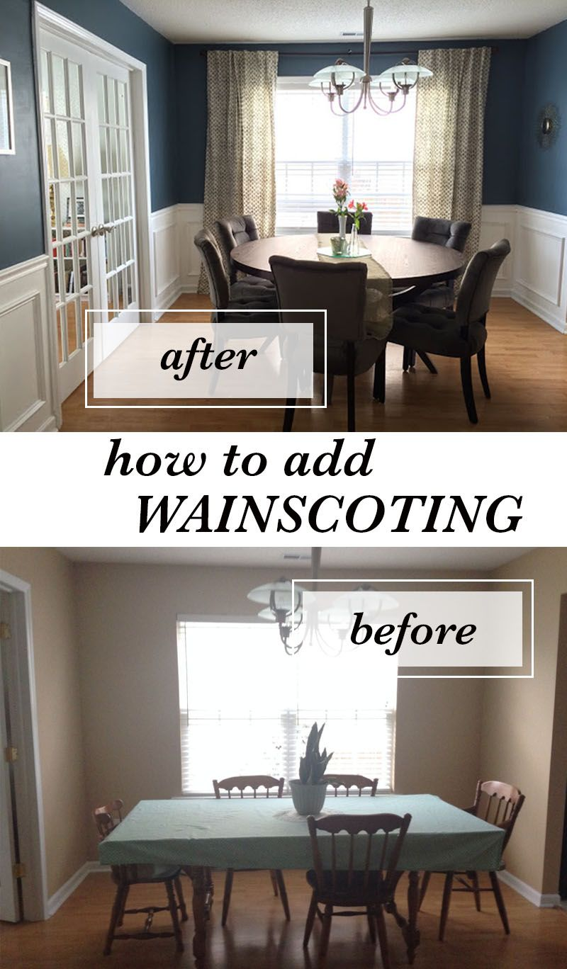 DIY How to Install Wainscoting Wainscoting styles