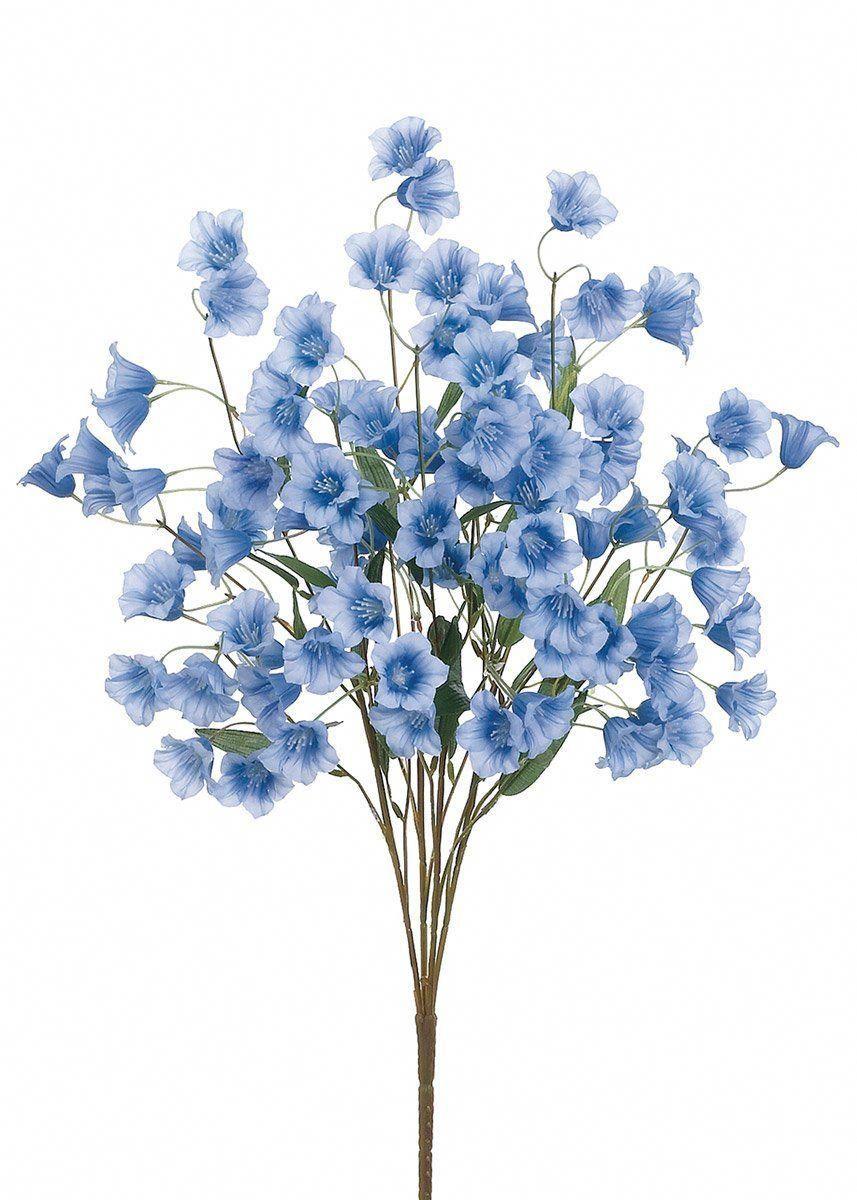 Artificial Bellflower Bush in Blue in 2020 Blue wedding