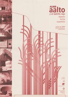 Alvar Aalto y el ladrillo rojo. Espacio, forma, superficie. Museo de Arquitectura Leopoldo Rother. Kolumbia, kesäkuu 1999.