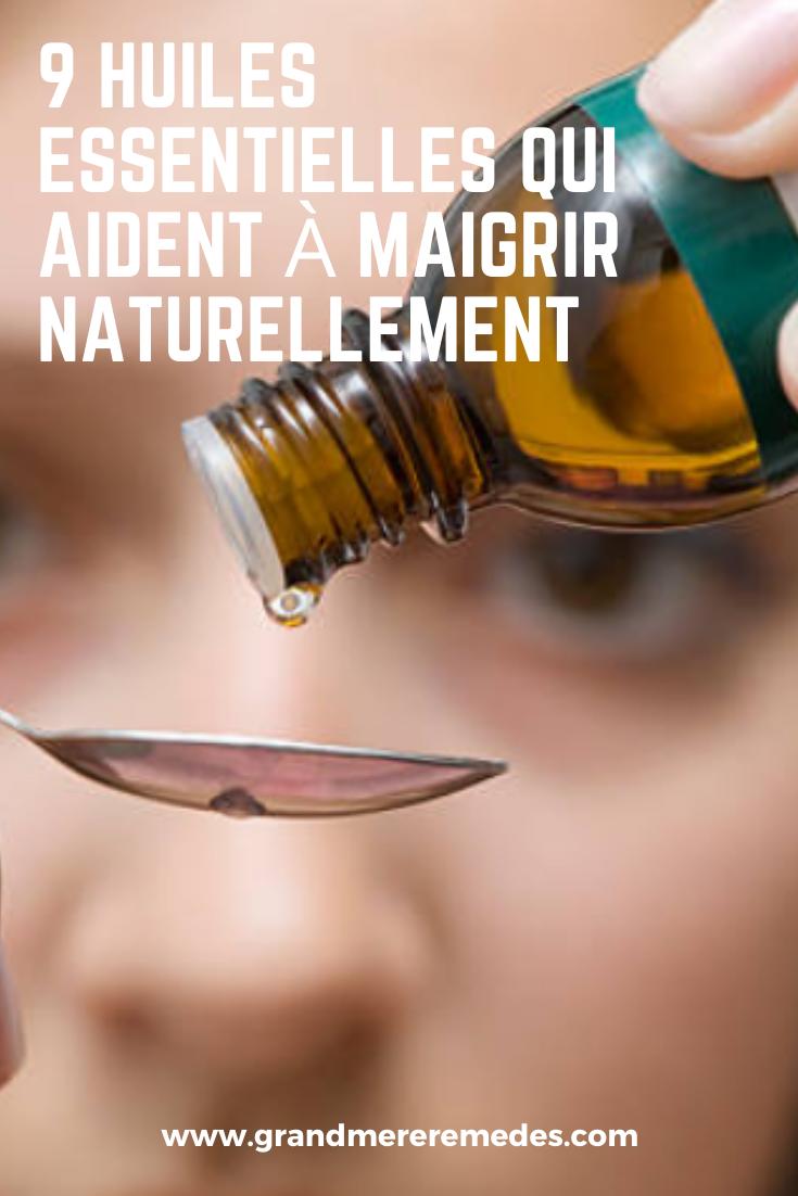 9 huiles essentielles qui vous aident à perdre du poids naturellement