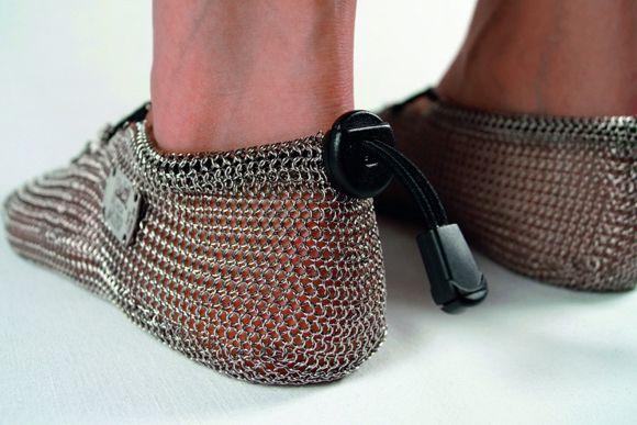 Les chaussures en cotte de mailles ont la cote! Chaussures Homme,  Accessoires Chaussures, 810cfcd4a7b4