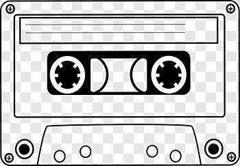 Cassette Cutout Png Clipart Images Pngfuel Cassette Tape Art Cassette Cassette Tapes