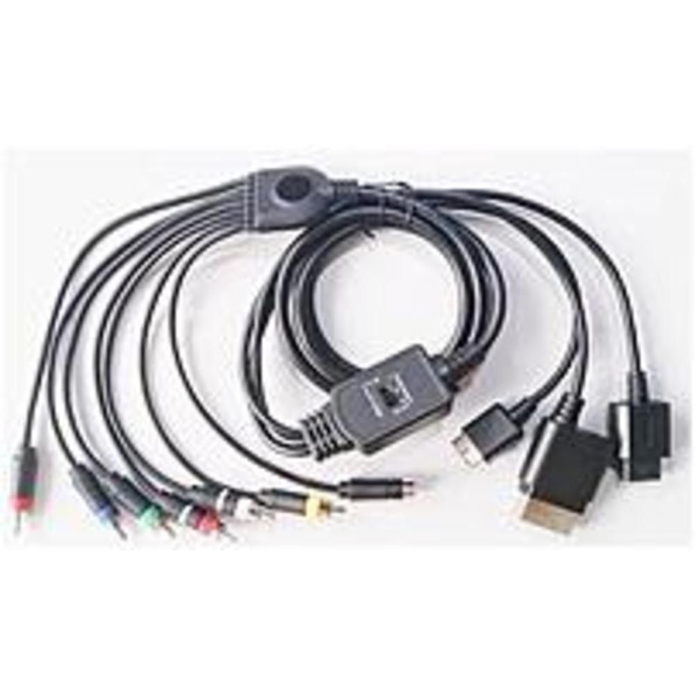ONN ONA15MG102 HD AV Combo Cable For Xbox, PS2, PS3 and Wii ...
