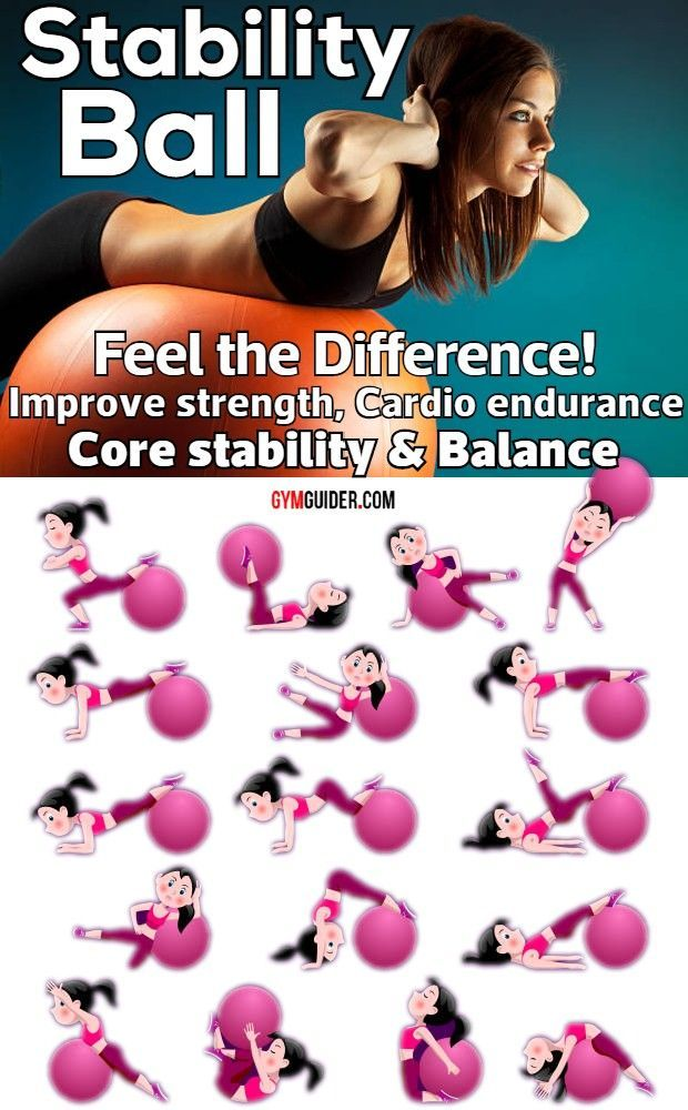 Super-Effective Stability Ball Exercises
