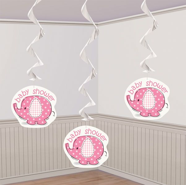 Hanging Swirl Decorations ... too cute :)