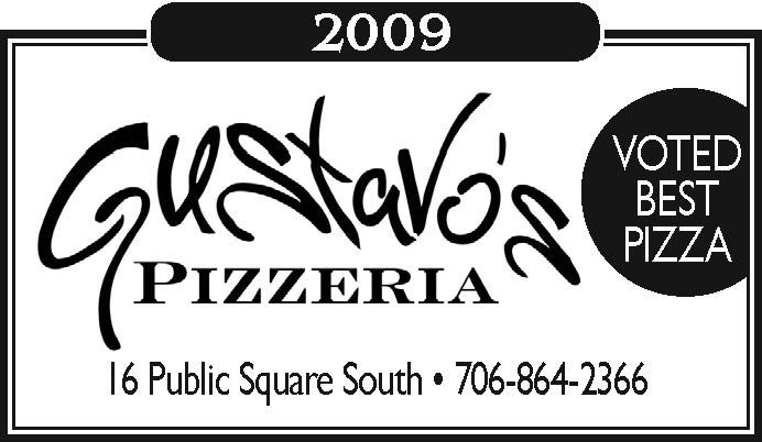 2009    VOTED BEST PIZZA | Gustavo's Pizzeria - Dahlonega, GA #georgia #DahlonegaGA #shoplocal #localGA