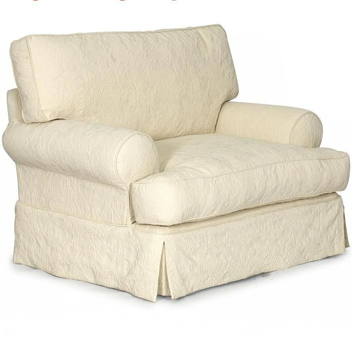 Slipcover Chair And A Half In Classic Natural Slipcovers For Chairs Chair And A Half Nebraska Furniture Mart