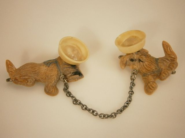 XX Cute Vintage 1940's Celluloid Sailor Dawgs Double Brooch 2071a | eBay, buy for $24.99