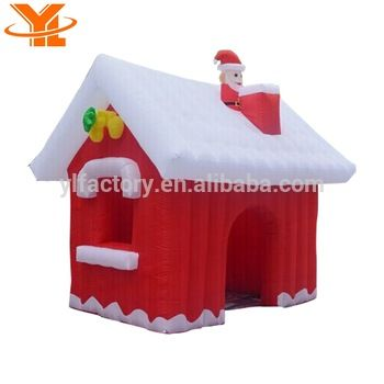Wholesale Christmas Inflatables House Xmas,Holiday Inflatable Santa - outdoor christmas decorations wholesale