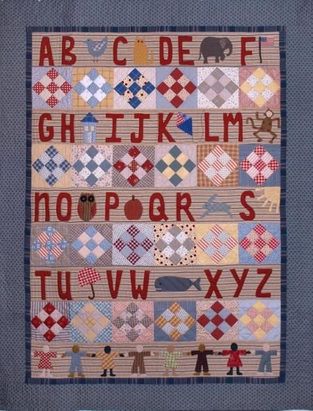 Geoff's Mom Patterns - The Reading Quilt