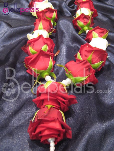 Indian Asian Wedding Garlands By Bellapetals AEUR View Our Beautiful Handmade With Various Colours And Designs