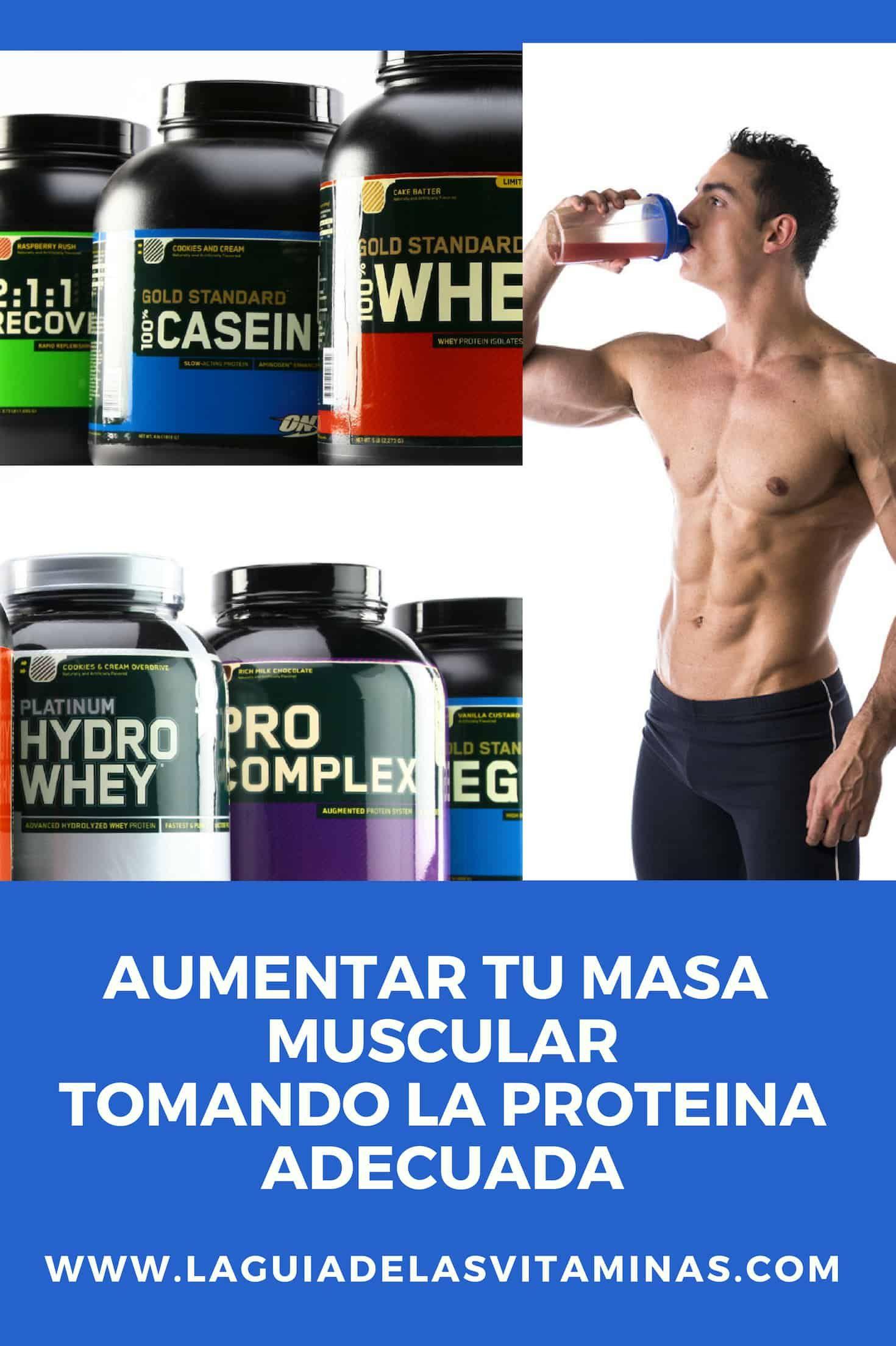 Comprimidos Para Aumentar Masa Muscular Tipos De Proteinas Que Debes Tomar Para Aumentar Tu Masa Muscular