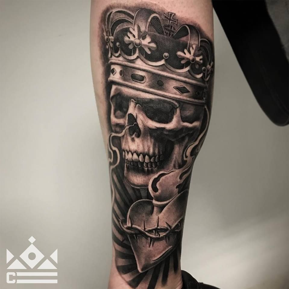 Black And Grey Tattoo By Salvador Diaz At Certified Tattoo Studios