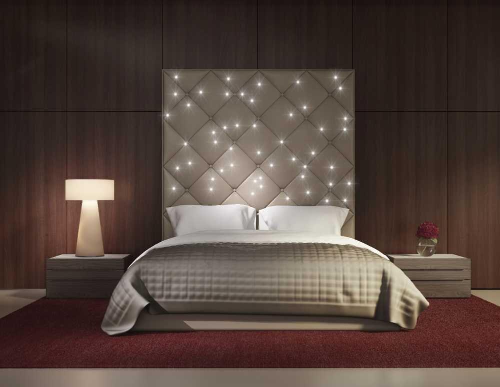 Sternenhimmel Bett led sternenhimmel hinter dem bett bausatz pix light de