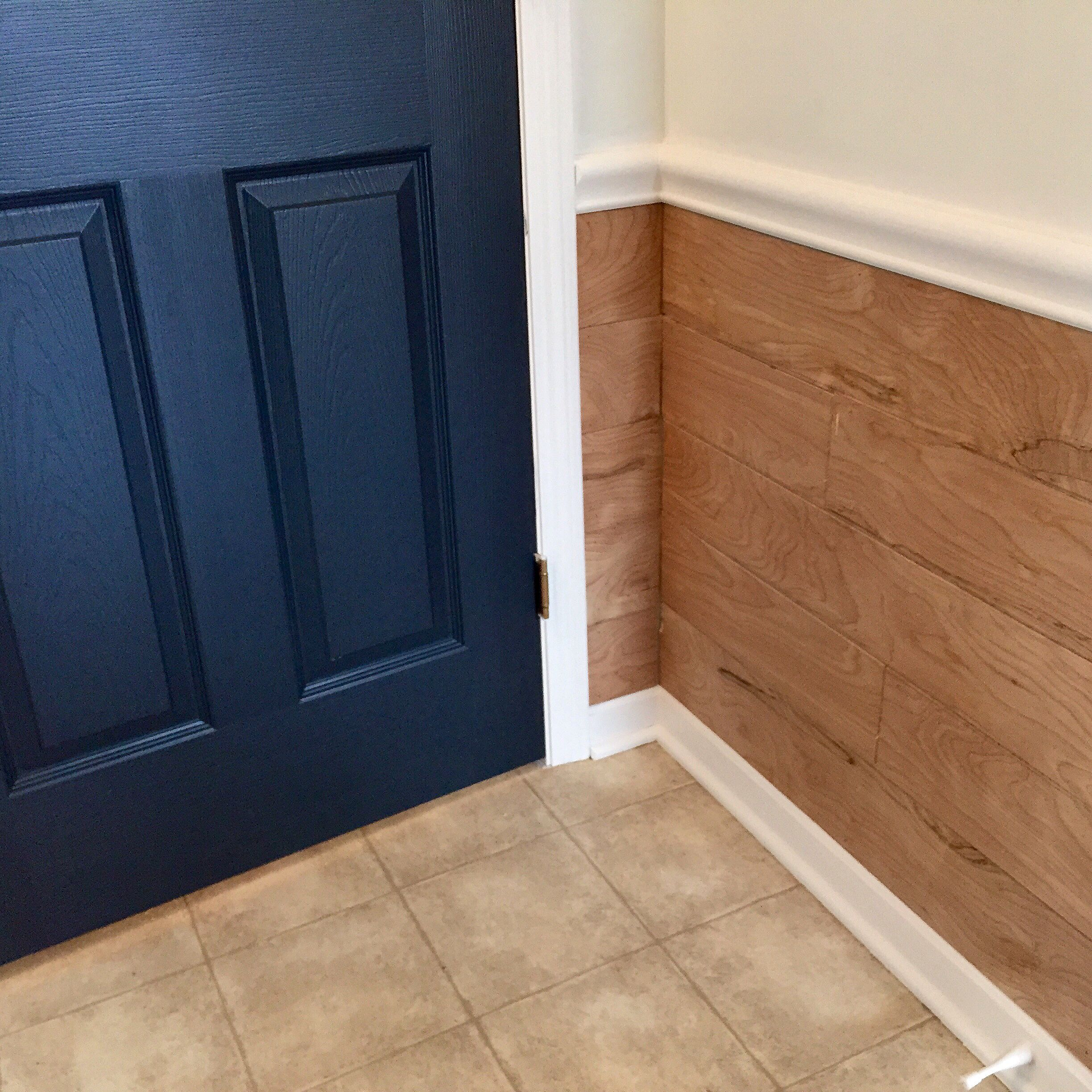 Shiplap Under Chair Rail - Google Search