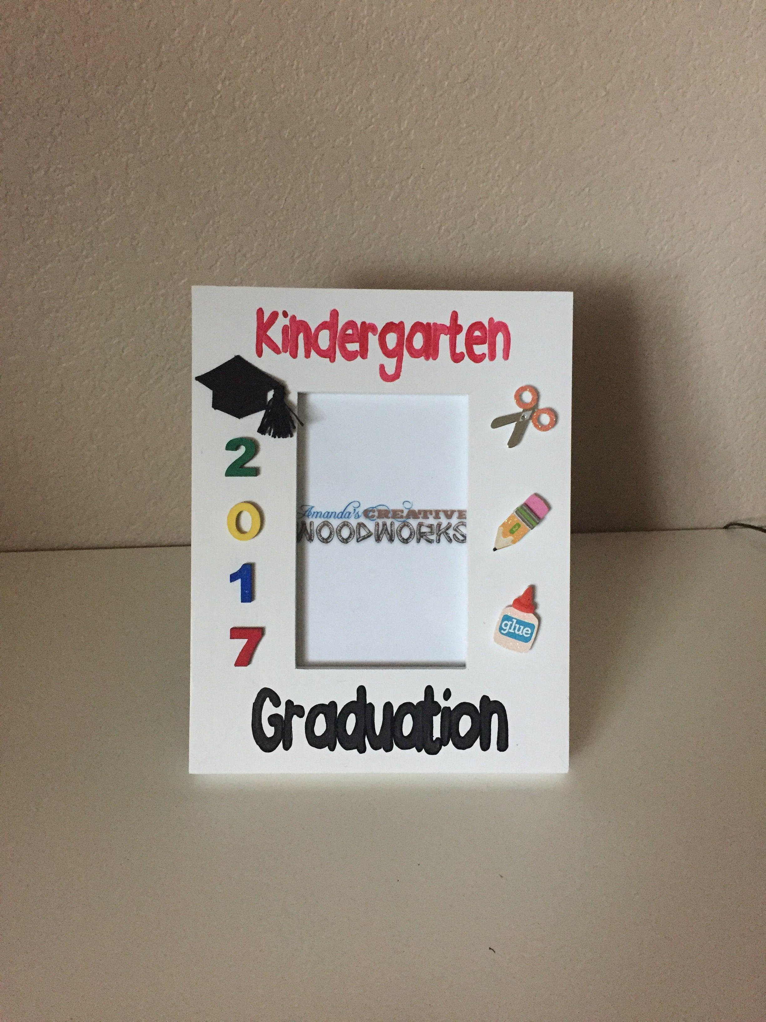 4x6 Kindergarten Graduation Picture Frame, Graduation Frame ...