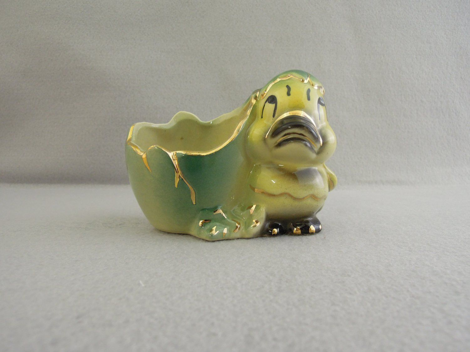Vintage Hatched Duckling Planter