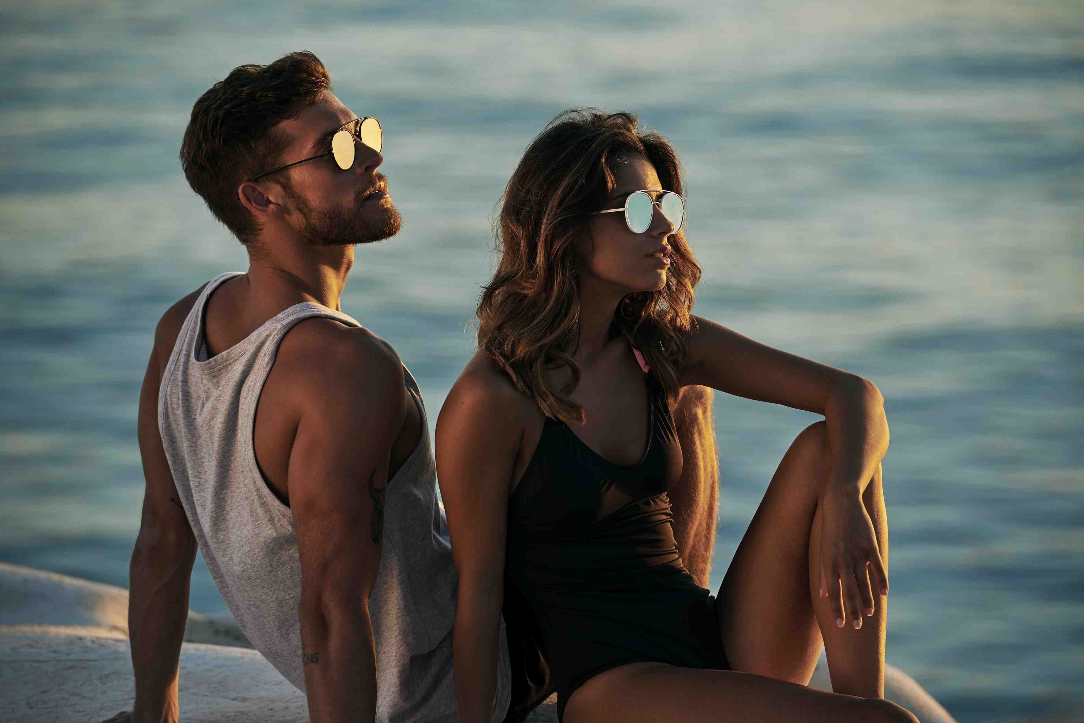 Sunday Somewhere DAYDREAM BELIEVERS Campaign - Parker Sunglasses