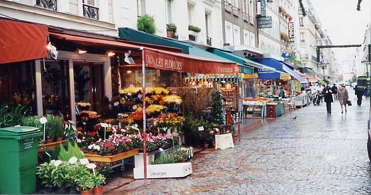 """Rue Cler, Paris....forget """"Places I'd Like to Go"""" how about """"Places I'd like to LIVE""""?!?"""