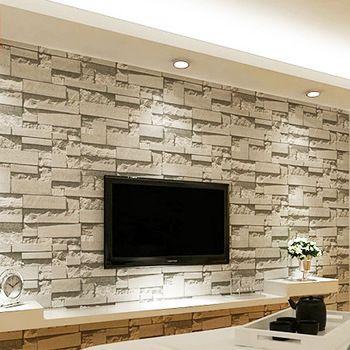 Stereoscopic 3D Film Imitation Brick Wall Pattern Wallpaper Background Bedroom Living Room TV Backdrop Speci