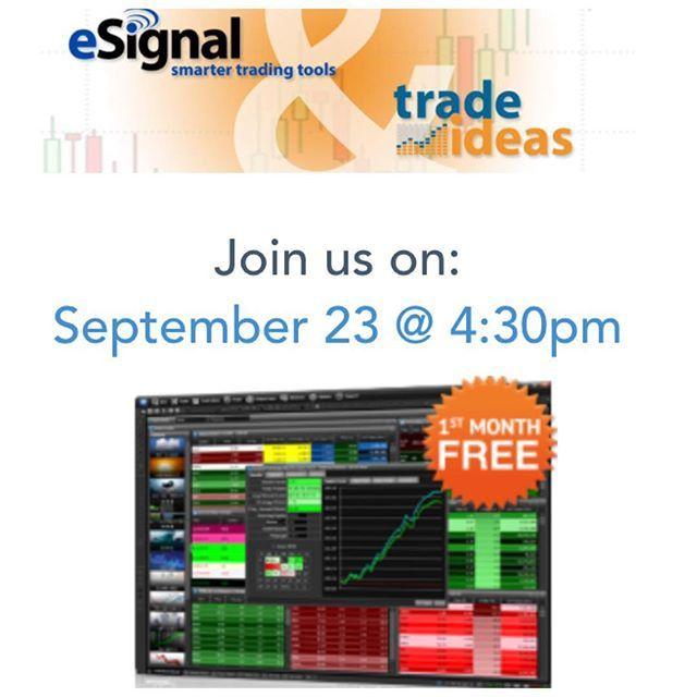 It's not too late, you can still register for our free webinar! 4:30 ET or 1:30 PT. email me for details marissa@trade–ideas.com #entrepreneur #trade #trader #profit #success #invest #bigdata #tech #data #webinar