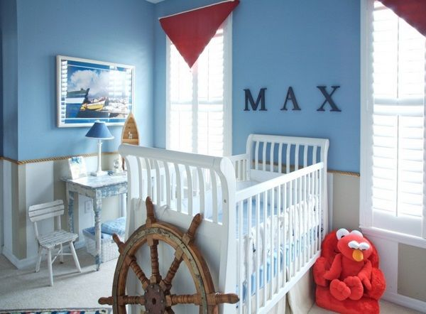 Baby Boy Bedroom Design Ideas Baby Blue Room Set Up A Maritime Flair  Httproomdecorating