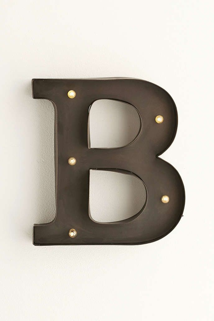 Letter Marquee Light - Urban Outfitters