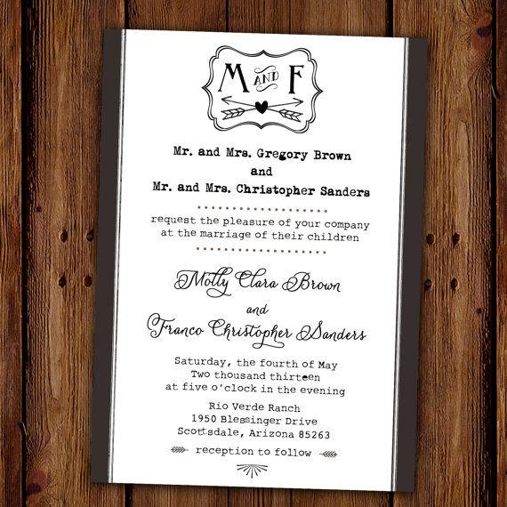 Lace Wedding Invitation Set Rustic Lace Wedding Wood White