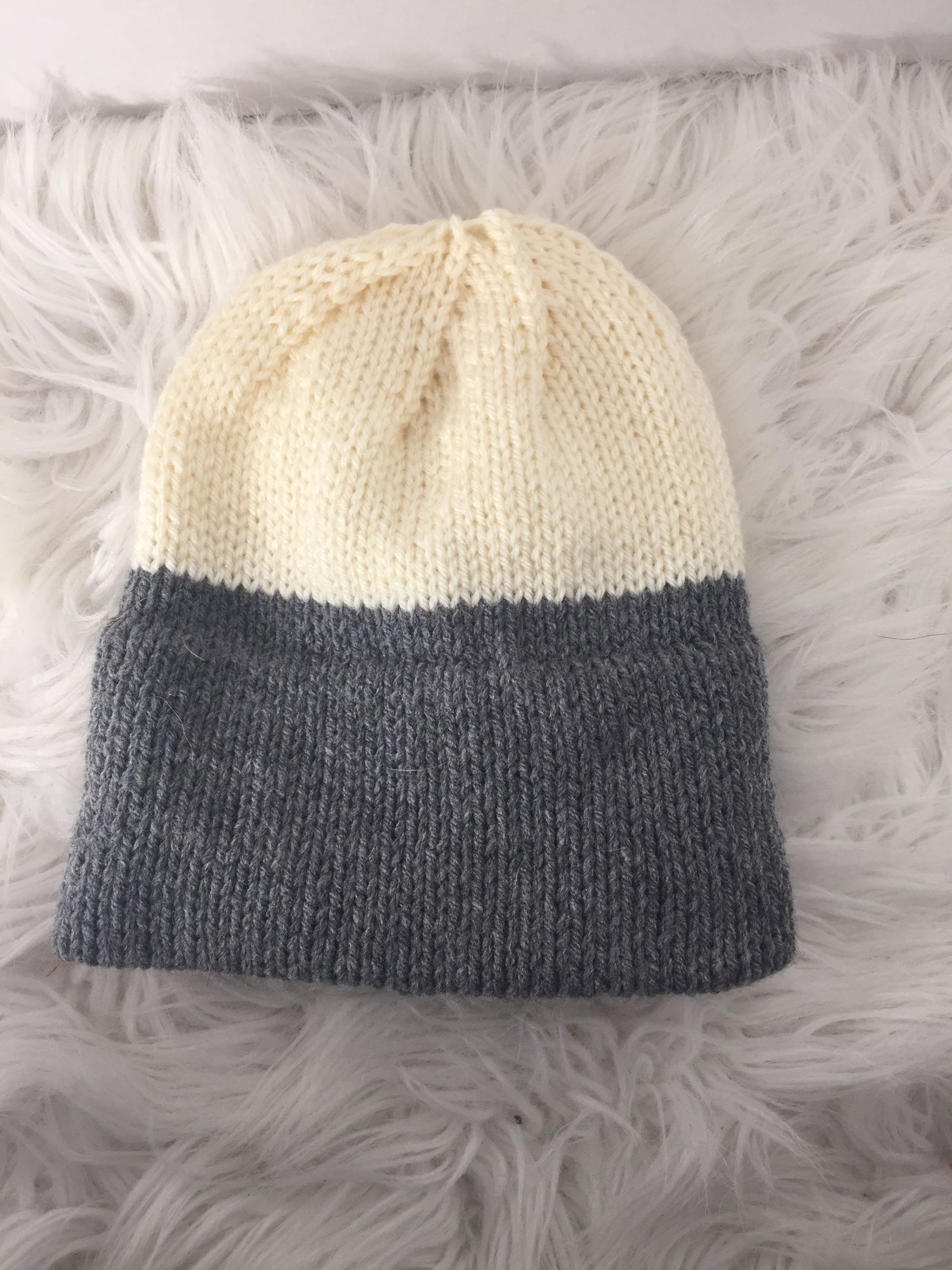 Double Knit Brim Hat | Mens hat knitting pattern, Hat ...