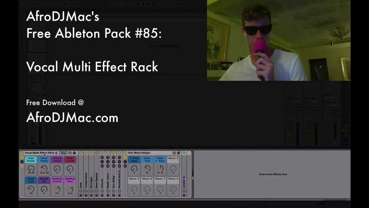 Vocal Multi Effect for Ableton Live Free Pack 85