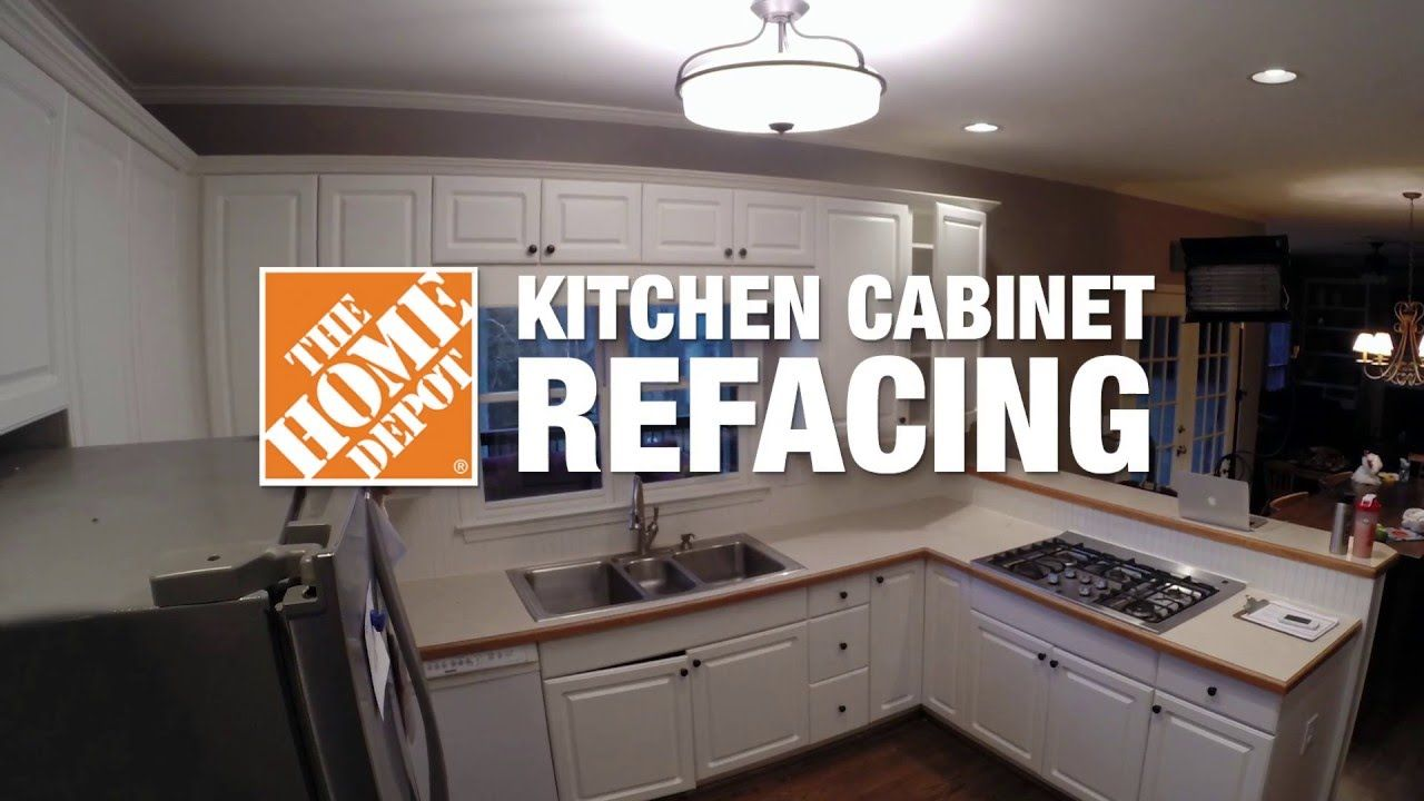 Kitchen Refacing Time Lapse The Home Depot Home Depot Kitchen