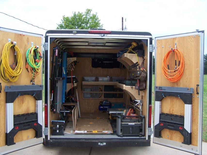 pingl par keith erwood sur trailers pinterest remorque fourgon et camion amenager. Black Bedroom Furniture Sets. Home Design Ideas