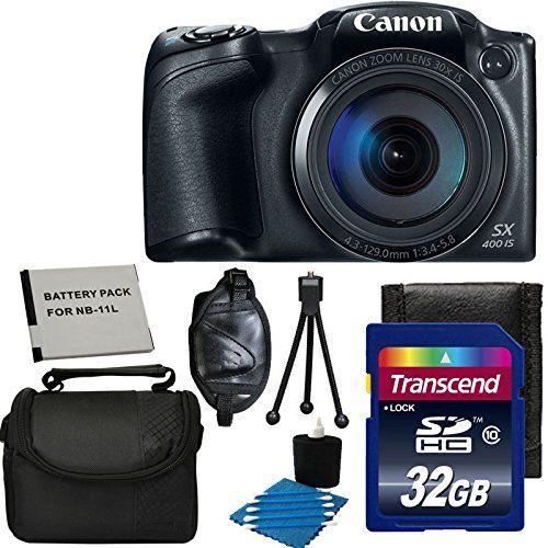 Canon Powershot Sx400 Is 16 0 Mp Digi Digital Camera Powershot Camera