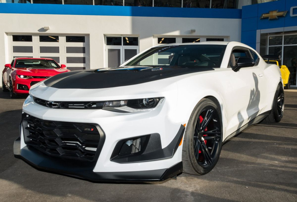 A Legend At Any Speed Chevy Camaro Camaro Zl1 2019 Camaro