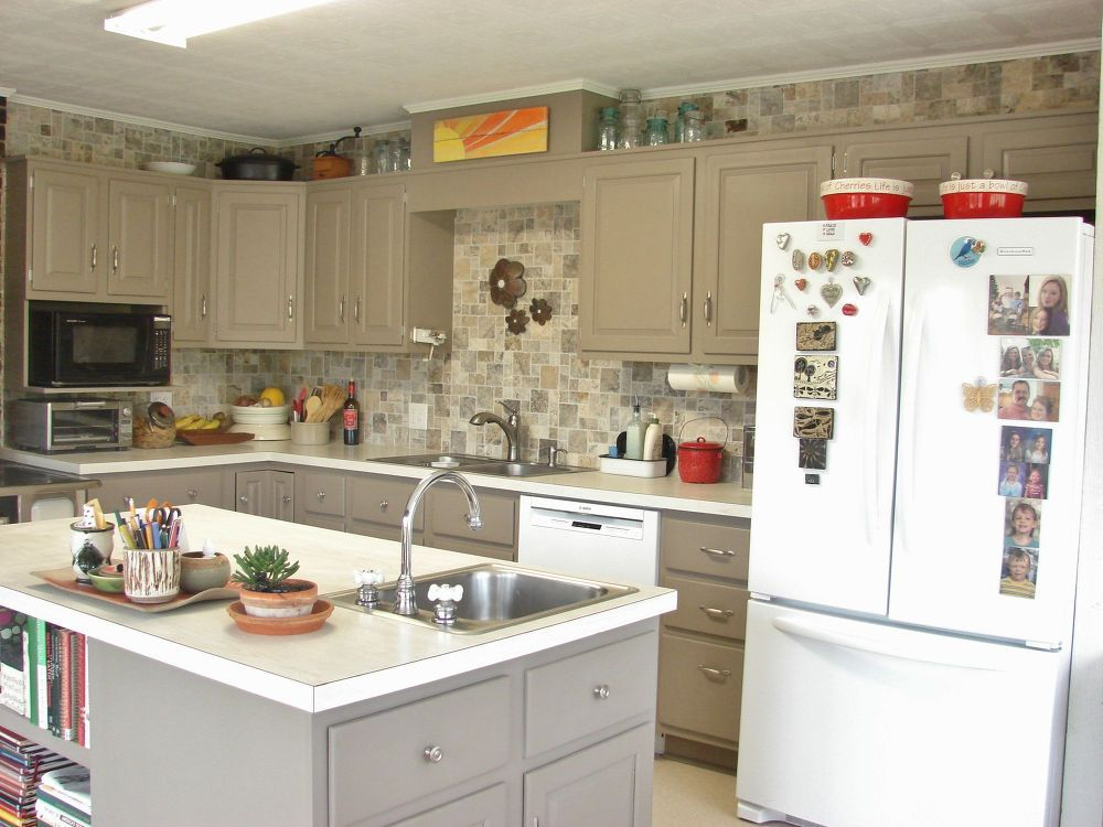 This kitchen remodel looks professional, but did NOT cost $20K