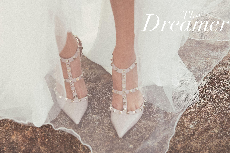 Tbb Creative Shoot The Dreamer Babushka Ballerina Lana Ivanova Weddings Valen Valentino Wedding Shoes Valentino Rockstud Shoes Valentino Rockstud Heels