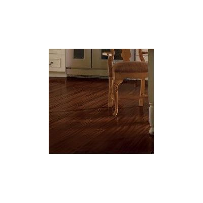 """Forest Valley Flooring 4-18/25"""" Engineered Exotic Hardwood Flooring in African Mahogany Burnished Sable"""