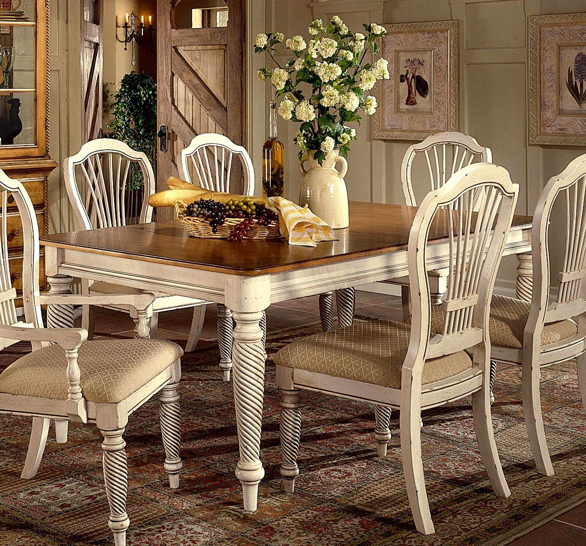 Antique Cream Dining Table For Open Plan Kitchen Diner White Dining Room Sets White Dining Set Rectangle Dining Table
