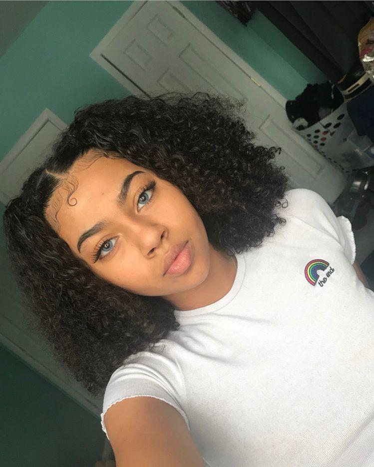 Follow Cuban M For More Edges Hair Natural Hair Styles Curly
