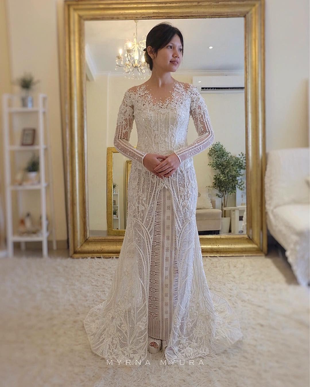 IG myrnamyura Desain bajunya cakep banget  Pakaian pernikahan