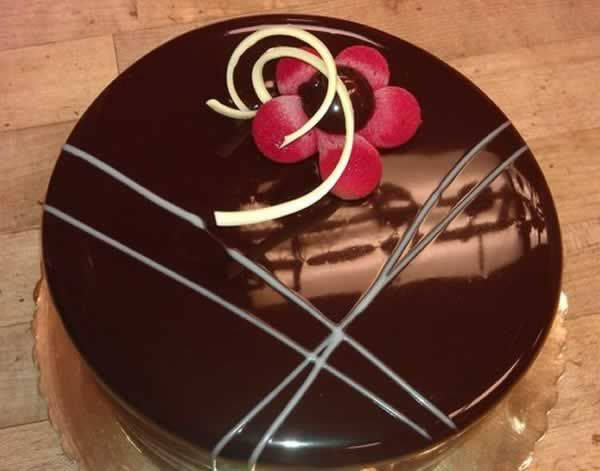 Chocolate Mirror Glaze Cake Mary Berry