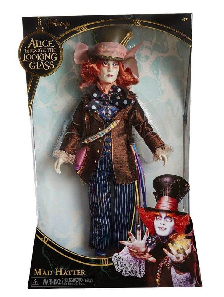 Disney Alice Through The Looking Glass Deluxe Mad Hatter Collector