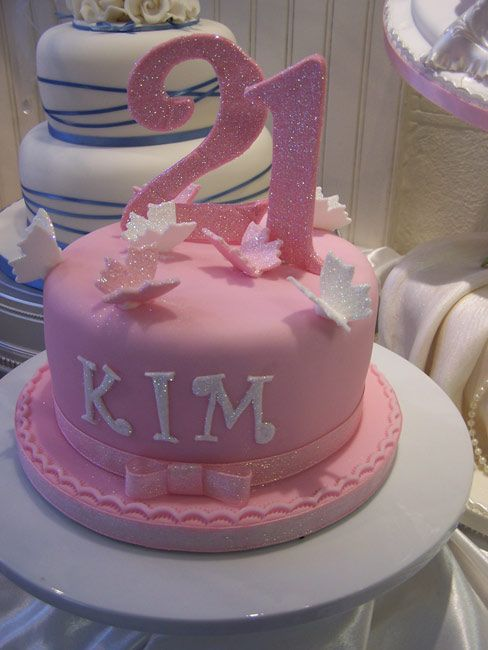 Miraculous 21St Cake 21St Birthday Cakes 21St Birthday Cake For Girls Personalised Birthday Cards Veneteletsinfo